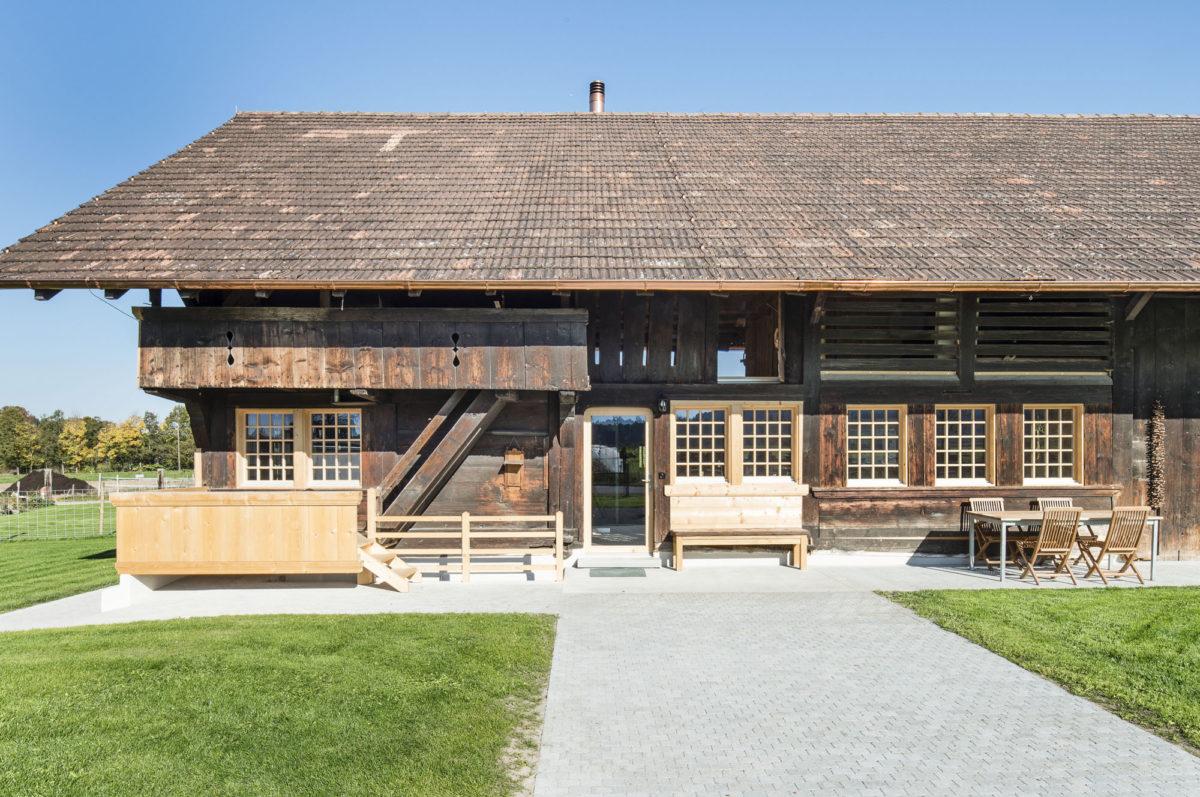 D llenbach ewald architekten ag sanierung bauernhaus oppligen - Architekt bauernhaus ...